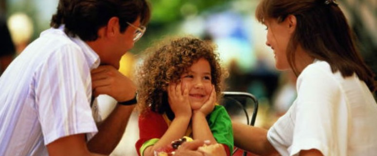 Дети берут пример со взрослых